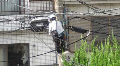 cable installer Japan